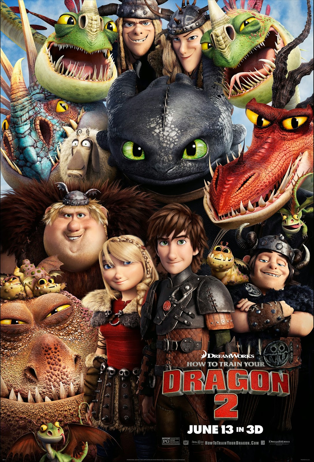 'How to Train Your Dragon 2′ soars to fantastic new heights