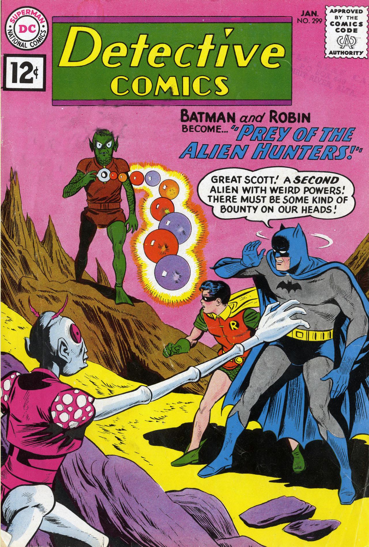 Detective Comics (1937) 299 Page 1