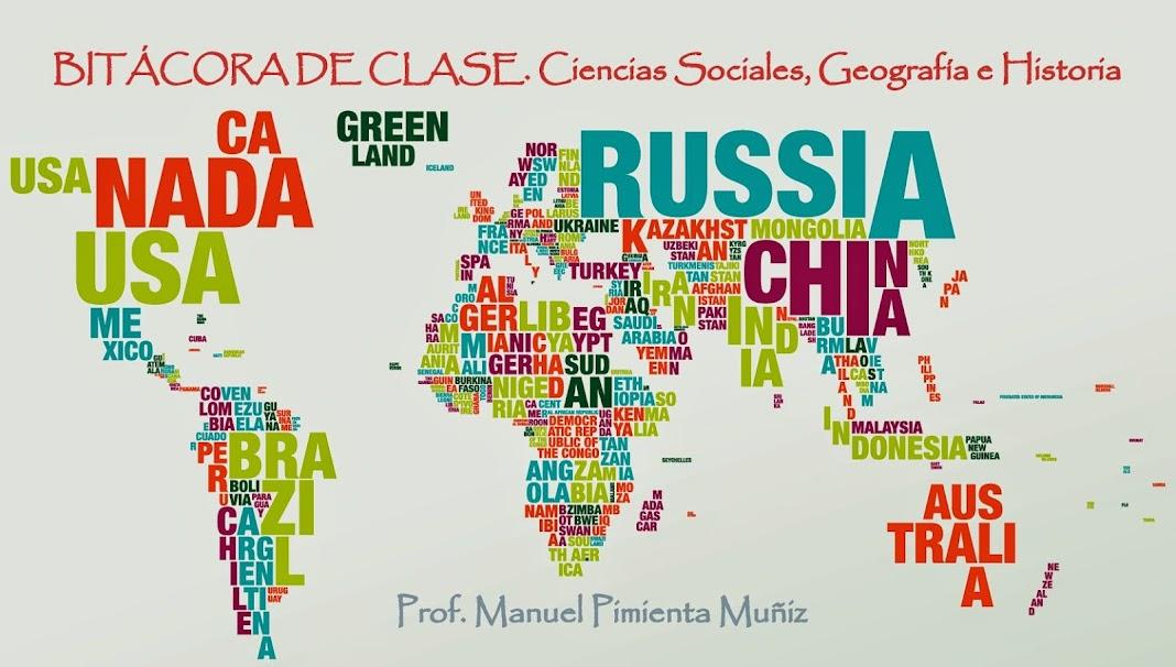 Blog de Ciencias Sociales. Curso 2017-2018