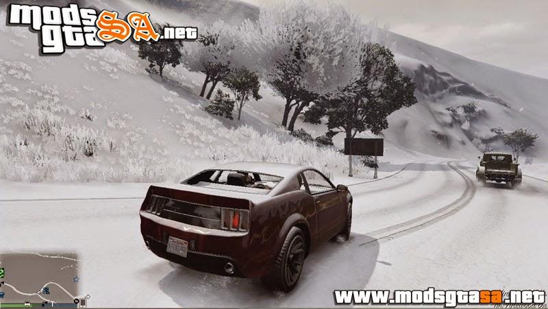 V - Mod Neve para GTA V Online