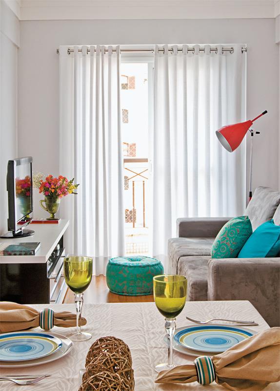 Amor em decora o inspira o revista minha casa for Comedor y sala de estar decorados