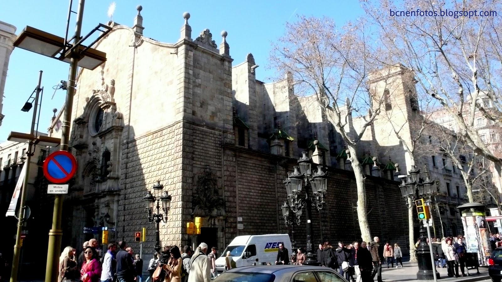 Mi Barcelona: Las Ramblas II. Rambla de los Estudios