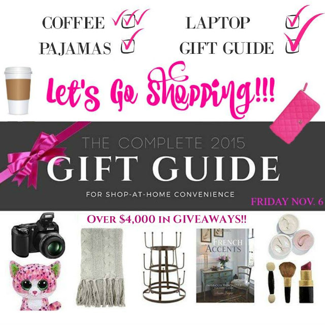 The Complete 2015 Gift Guide via Curb Alert! Shopping Convenience