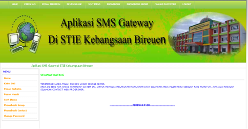 how to use sms gateway in php