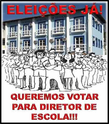 Eleições nas escolas já!