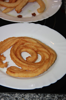 Receta de churros caseros