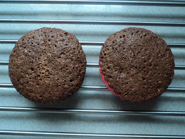 Bizcochitos de chocolate (Mug cake) sin azúcar