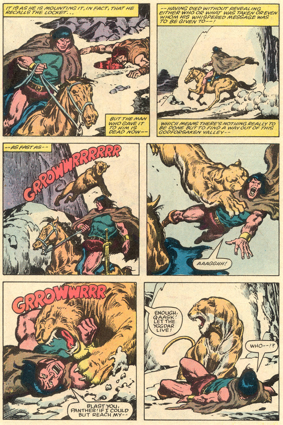 Conan the Barbarian (1970) Issue #151 #163 - English 8