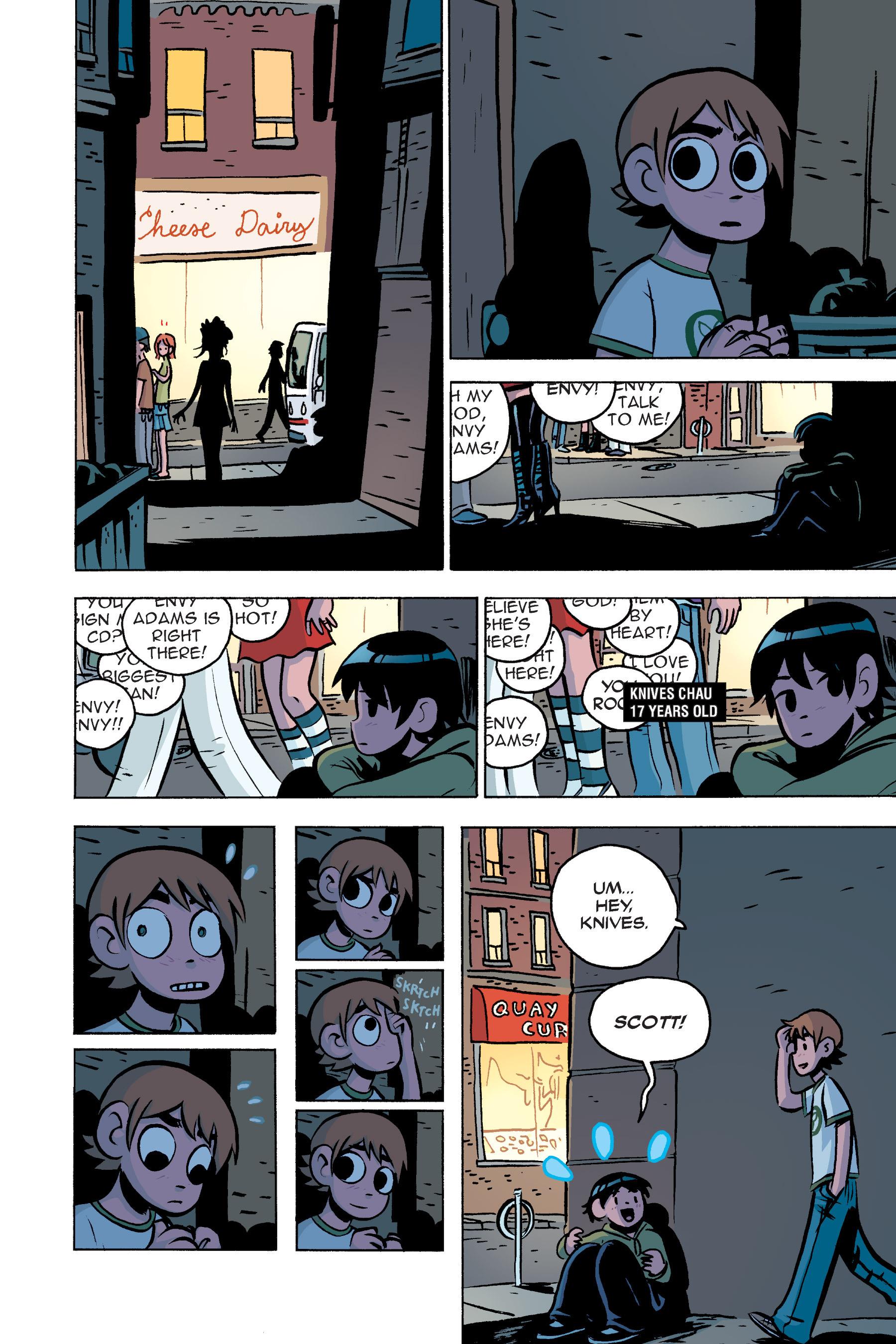 Read online Scott Pilgrim comic -  Issue #3 - 109