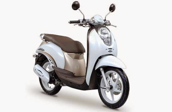 Honda Scoopy White