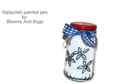 painted jar DIY