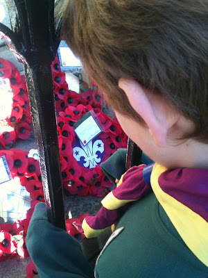 rememberence sunday scouts