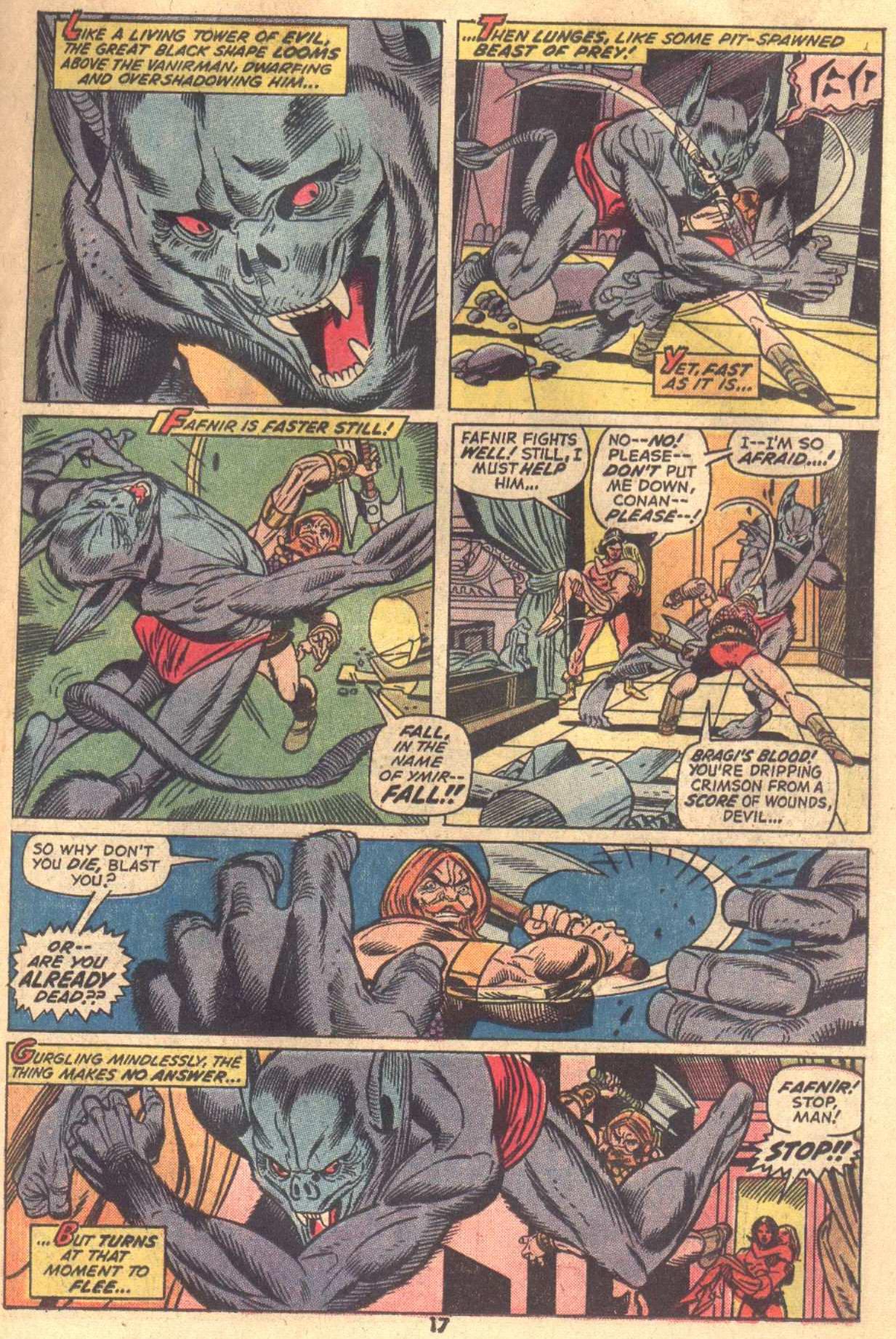 Conan the Barbarian (1970) Issue #18 #30 - English 13