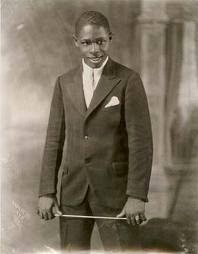 Portrait of a Band Leader, by James Van Der Zee