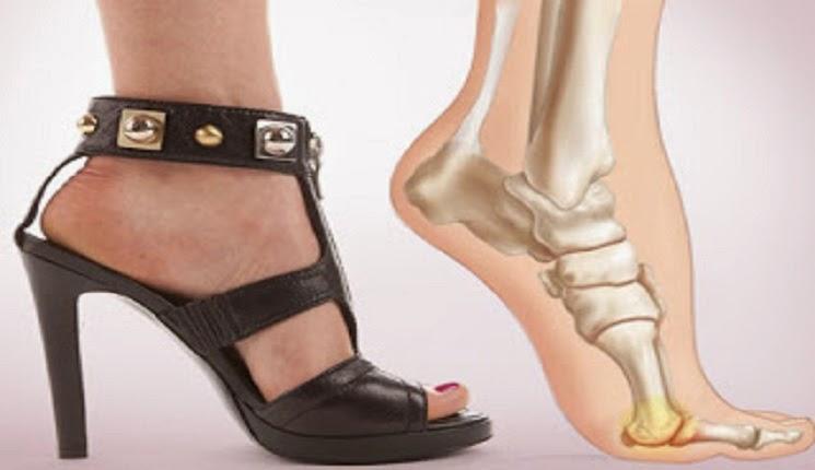 la forma natural del pie