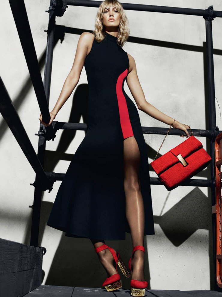 Karlie Kloss by Mert Alas & Marcus Piggott for Versace Fall-Winter 2015-2016 | Ses Rêveries