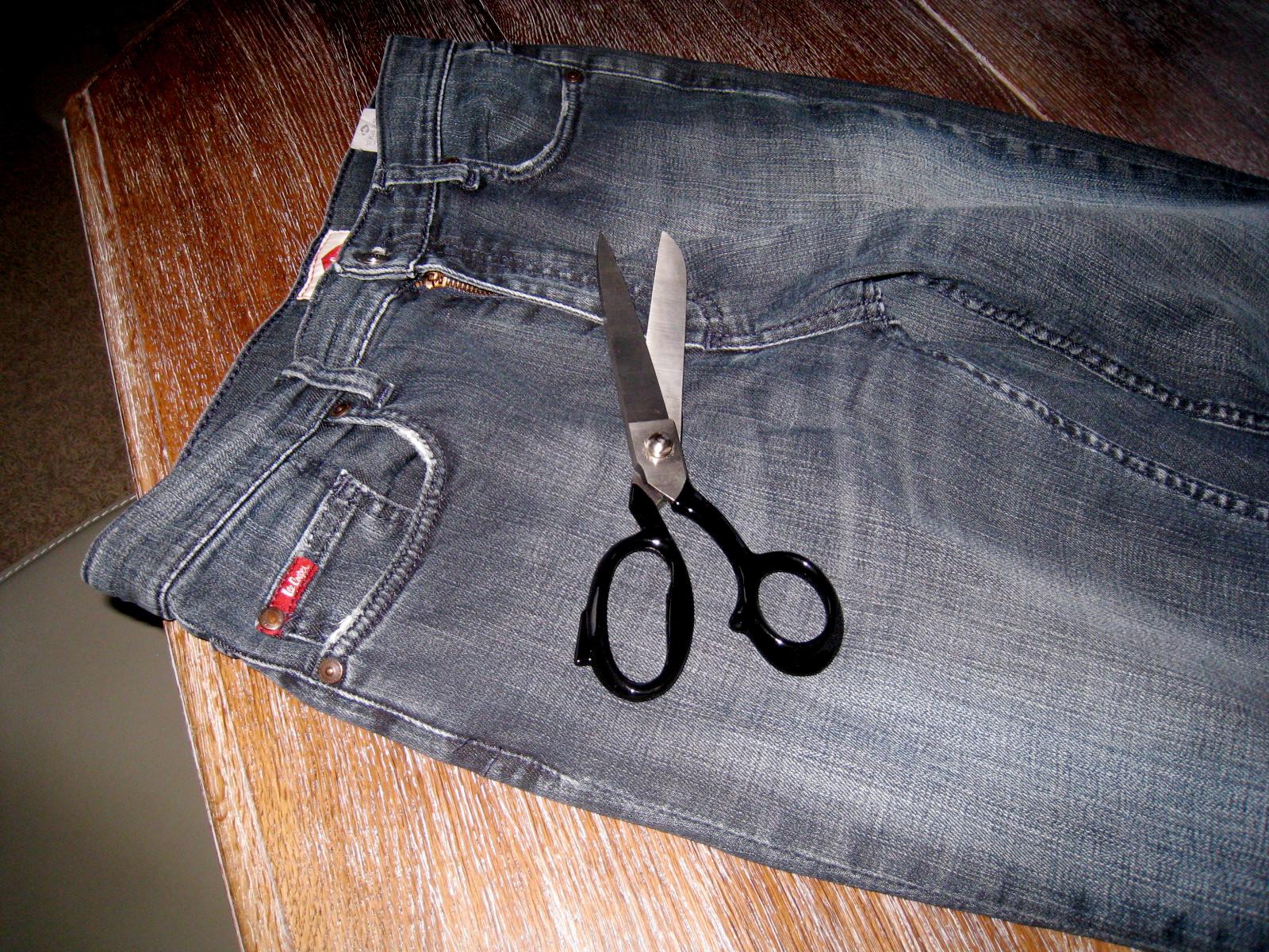 etonnant transformer jean en sac 12 ma serenite. Black Bedroom Furniture Sets. Home Design Ideas