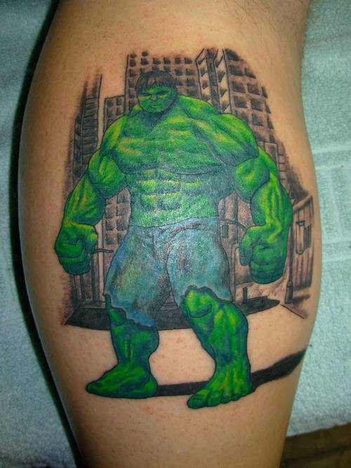 the good the bad and the tattooed avengers hulk. Black Bedroom Furniture Sets. Home Design Ideas