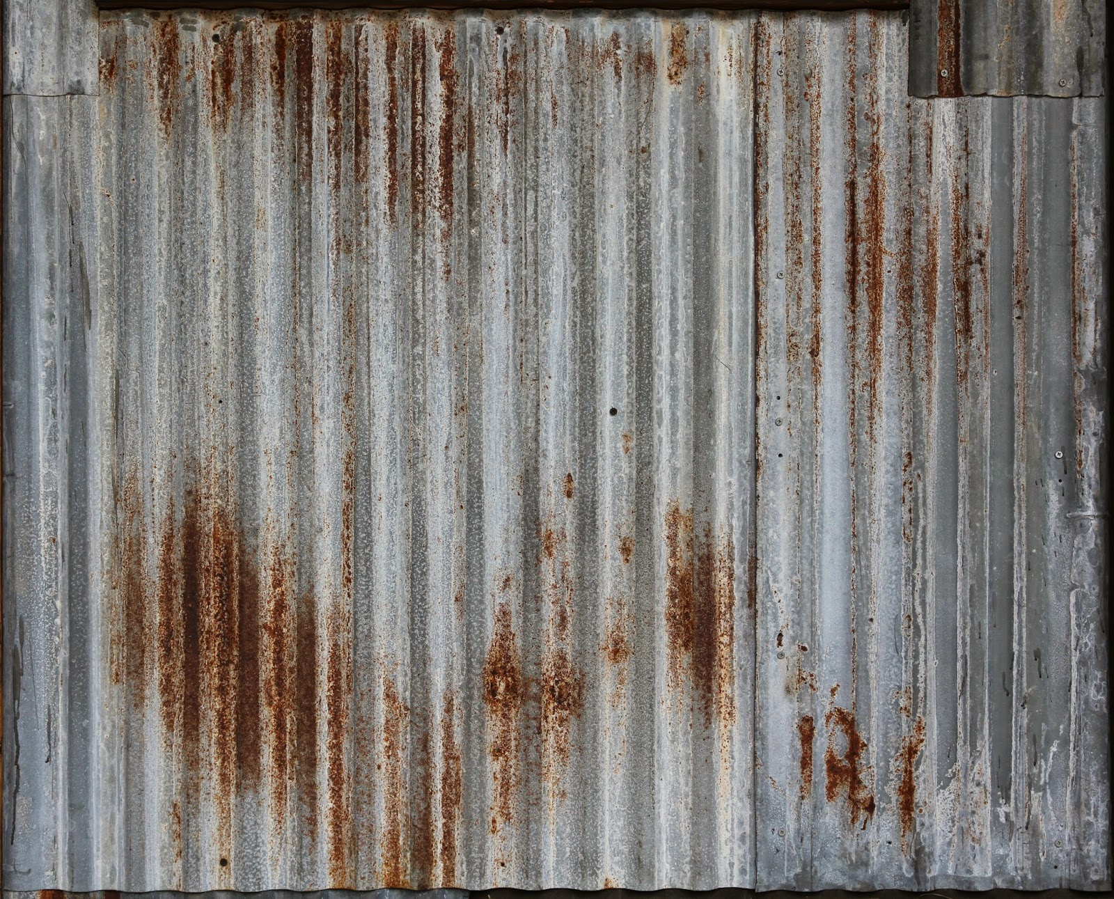 Rusted Metal Roof Texture Clown Fish Cafe: Free ...