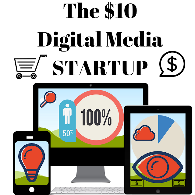 $10 Startup 10 Dollar Frugal Entrepreneur Mike Schiemer Online Business Home Biz Social Media Marketing