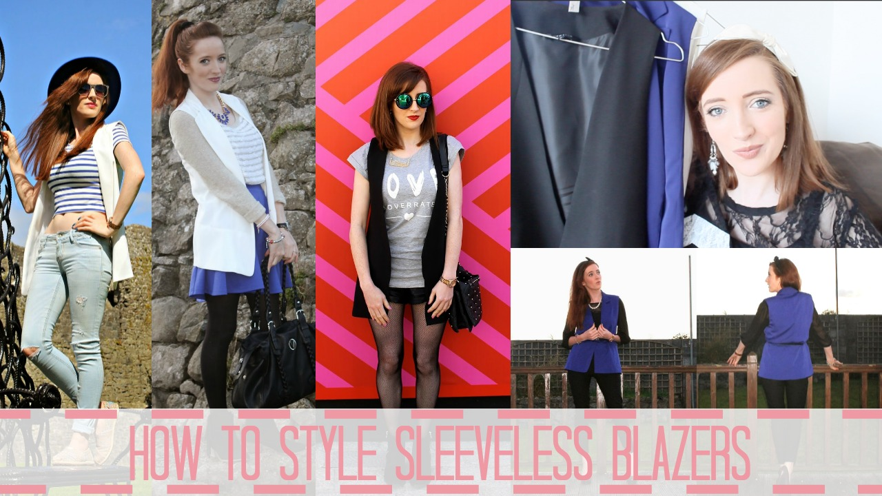 How Bec Boop styles Sleeveless Blazers for SS15