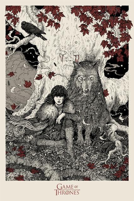 poster mondo edicion limitada 6 - Juego de Tronos en los siete reinos