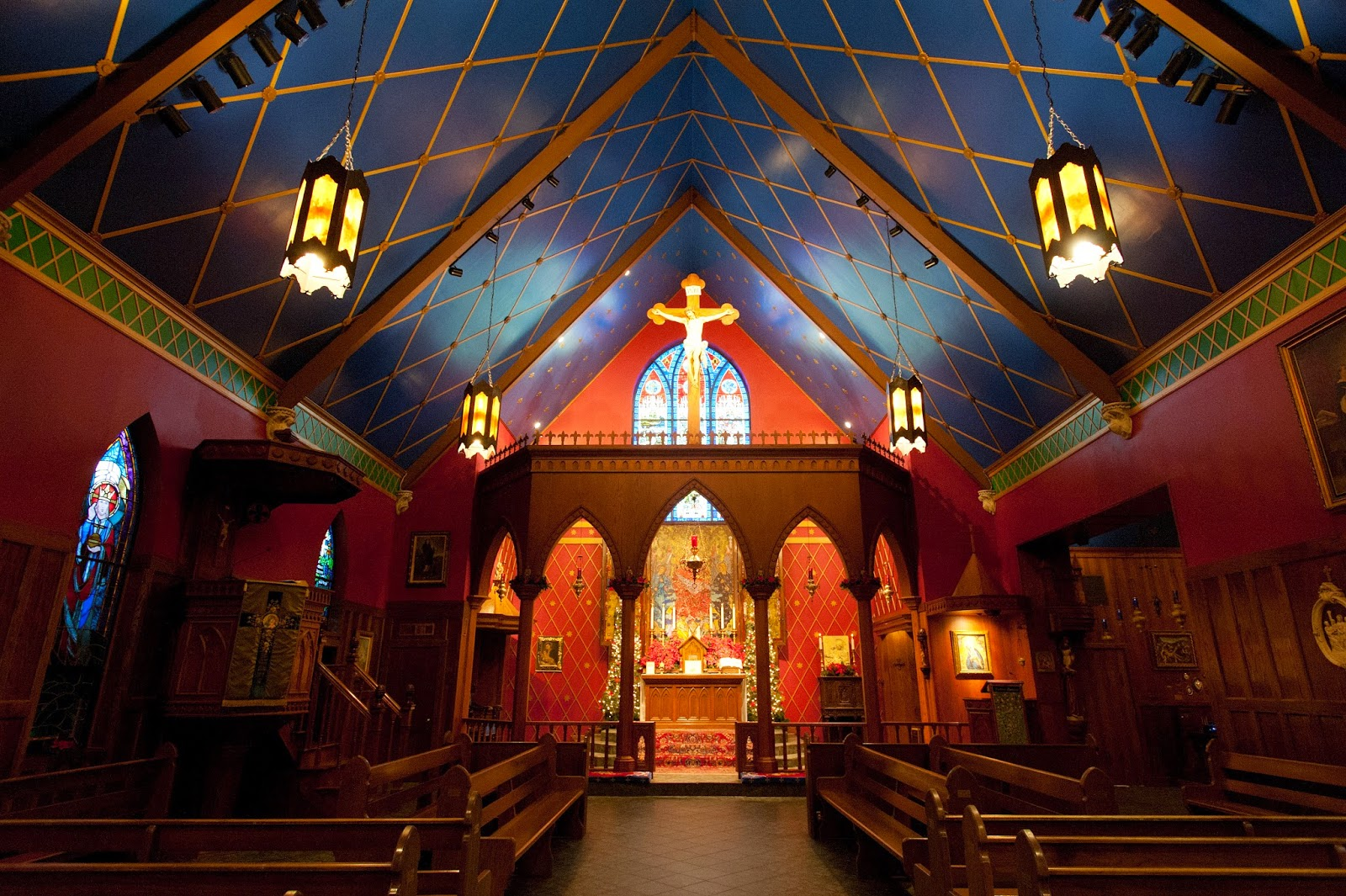 Modern Medievalism: Photo essay: our solemn high nuptial Mass, part ...
