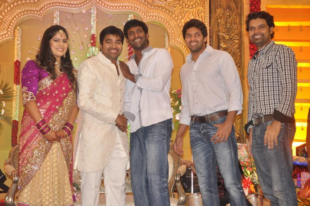 South Indian Actors Family Photos South Indian Actor Vishal And