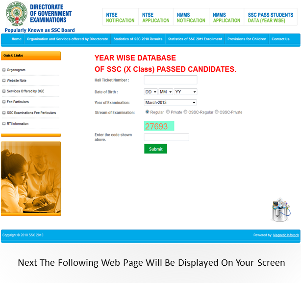 bseap website for ssc marks memo download