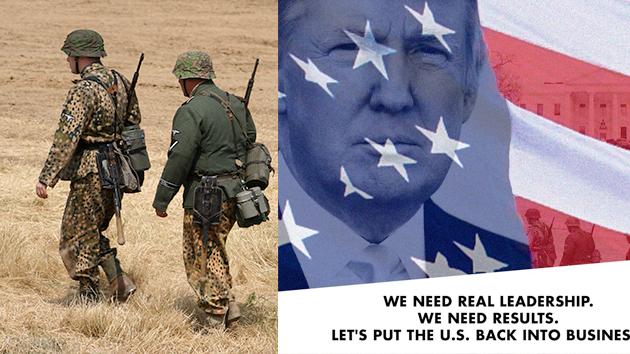 Donald Trump usa soldados nazis em sua campanha eleitoral