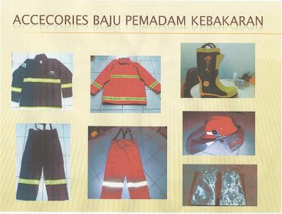 Accecories Baju Pemadam Kebakaran