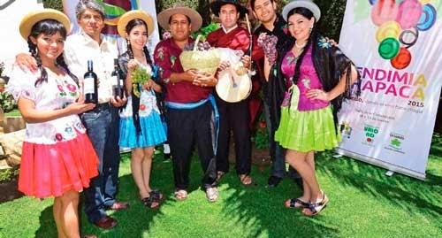 El Arte, el Vino y la Vendimia Chapaca se dan cita en Uriondo