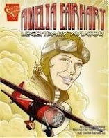 bookcover of AMELIA EARHART: Legendary Aviator (Graphic Biographies)by Jameson Anderson