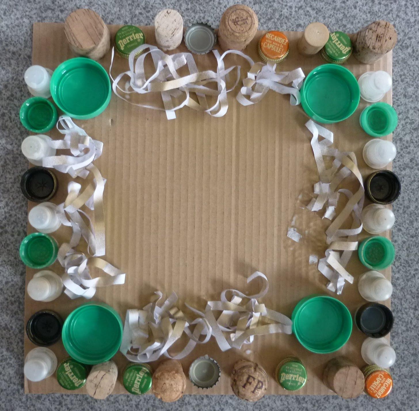 n nuph 39 art ateliers detournement de bouchons pour cadres le 16 f vrier 2011. Black Bedroom Furniture Sets. Home Design Ideas