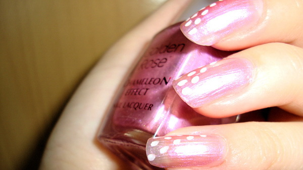 EVITA, Golden Rose, Chameleon Effect, Nails, Nail Polish