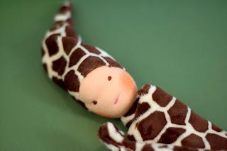 waldorf handmade blanket baby pocket doll bamboletta