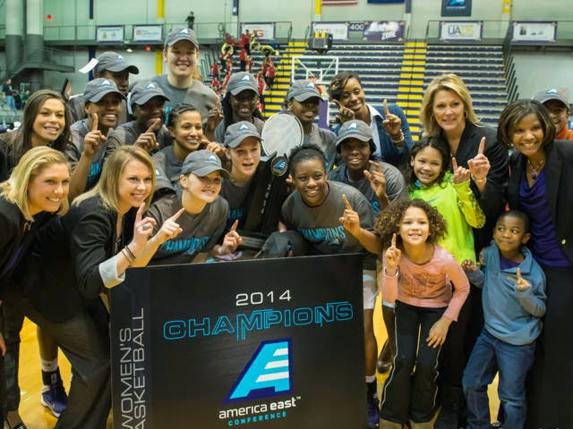 Women's Basketball AE Champs