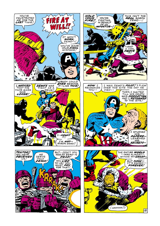 Captain America (1968) Issue #100 #14 - English 19