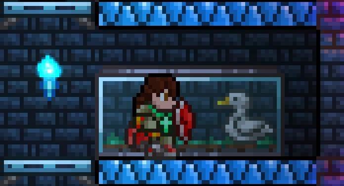 Gaiola com Animais novos Animal Terraria Shield Armor Terrariam Duck