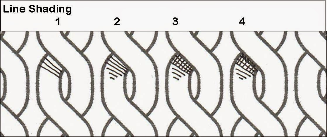 Line Drawing No Shading : Celtic knots with judy west decorating