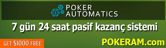 Poker Automatics - Pokeram.com - Turkey