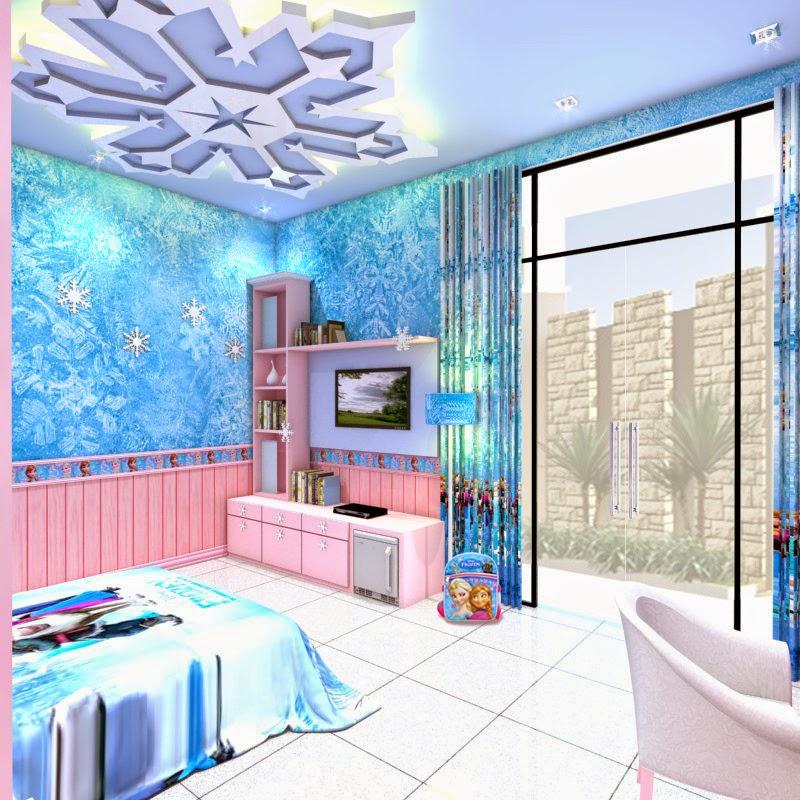 Rani Fara Yunia Frozen Bedroom Frozen bedroom set
