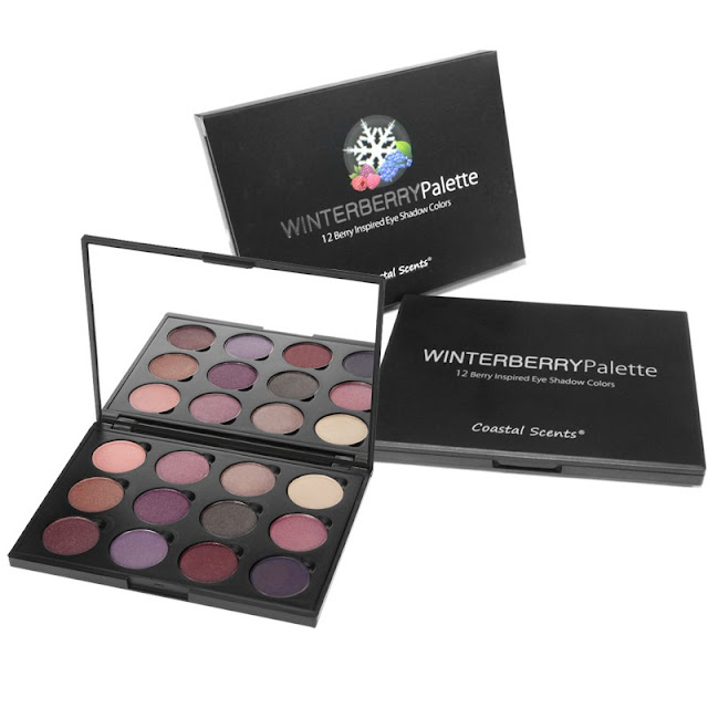 winterberrypalette photo white Coastal Scents Winterberry Palette Swatches