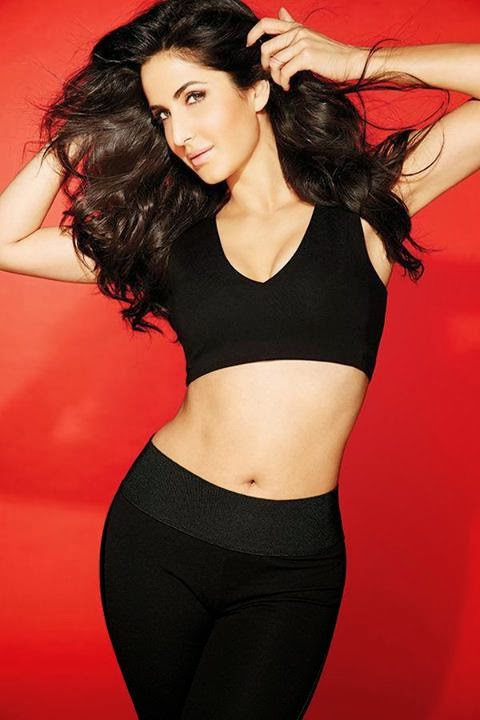 Katrina_Kaif's-belly-in-FHM-India-Magazine
