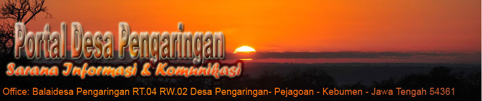 PORTAL DESA PENGARINGAN - PEJAGOAN - KEBUMEN