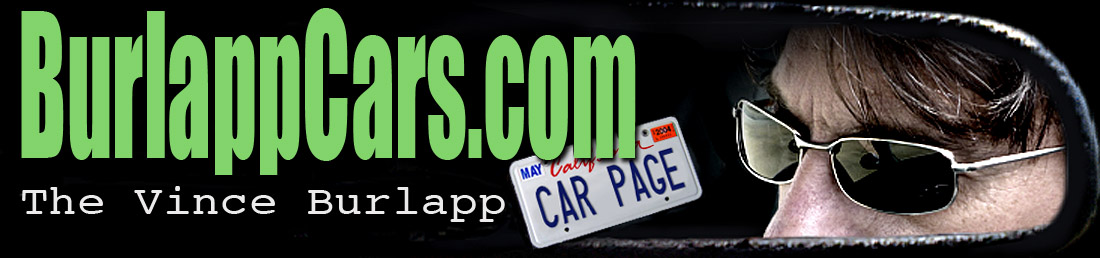 Vince Burlapp Car Page