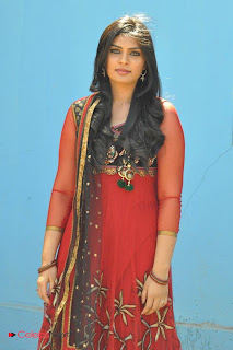 Deepsika Picture Gallery in Salwar Kameez at Jayan Creations Movie Opening 0018