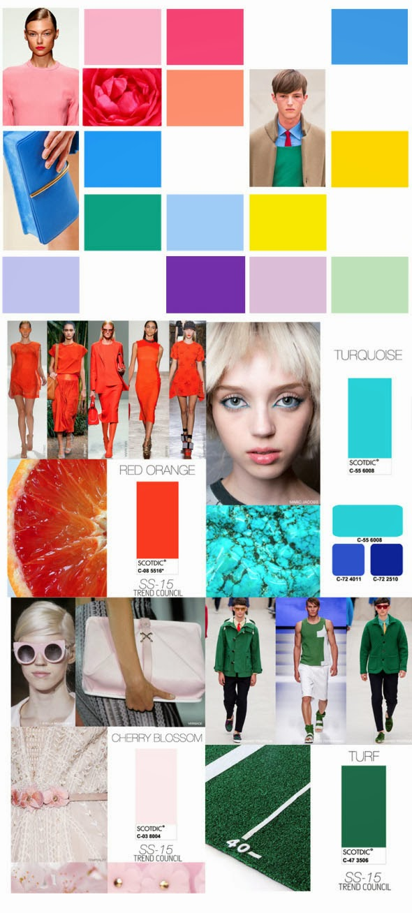 Trends Trend Council Colors Spring Summer 2015