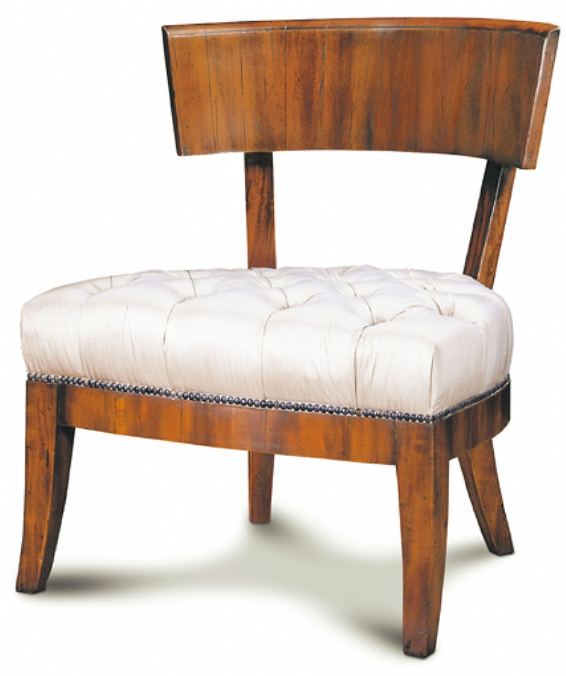 Jimed furniture zunne occasional chair classic modern for Modern reproduction furniture