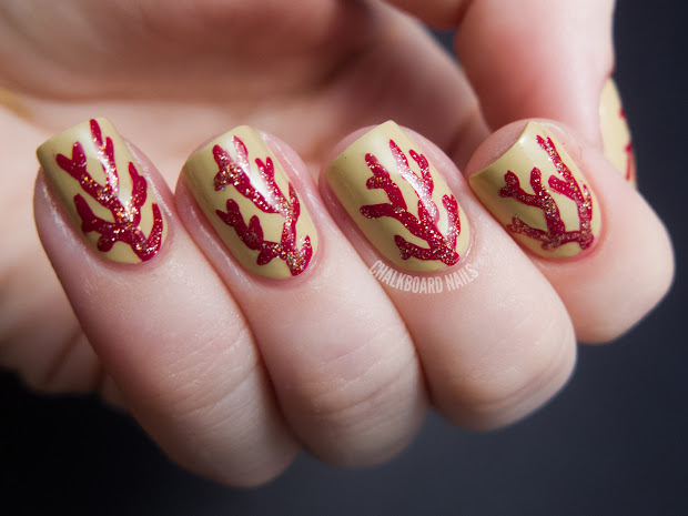 coral branches - china glaze